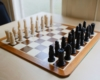 Chess Set in Games Room