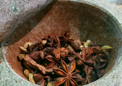Pestle and Mortar spice bowl